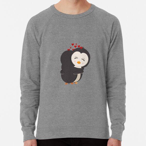 Penguina love - hug Lightweight Sweatshirt
