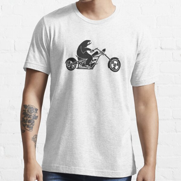 Slow Sloth On A Fast Bike Essential T-Shirt