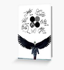 WINGS - Kim Taehyung (V2) Greeting Card