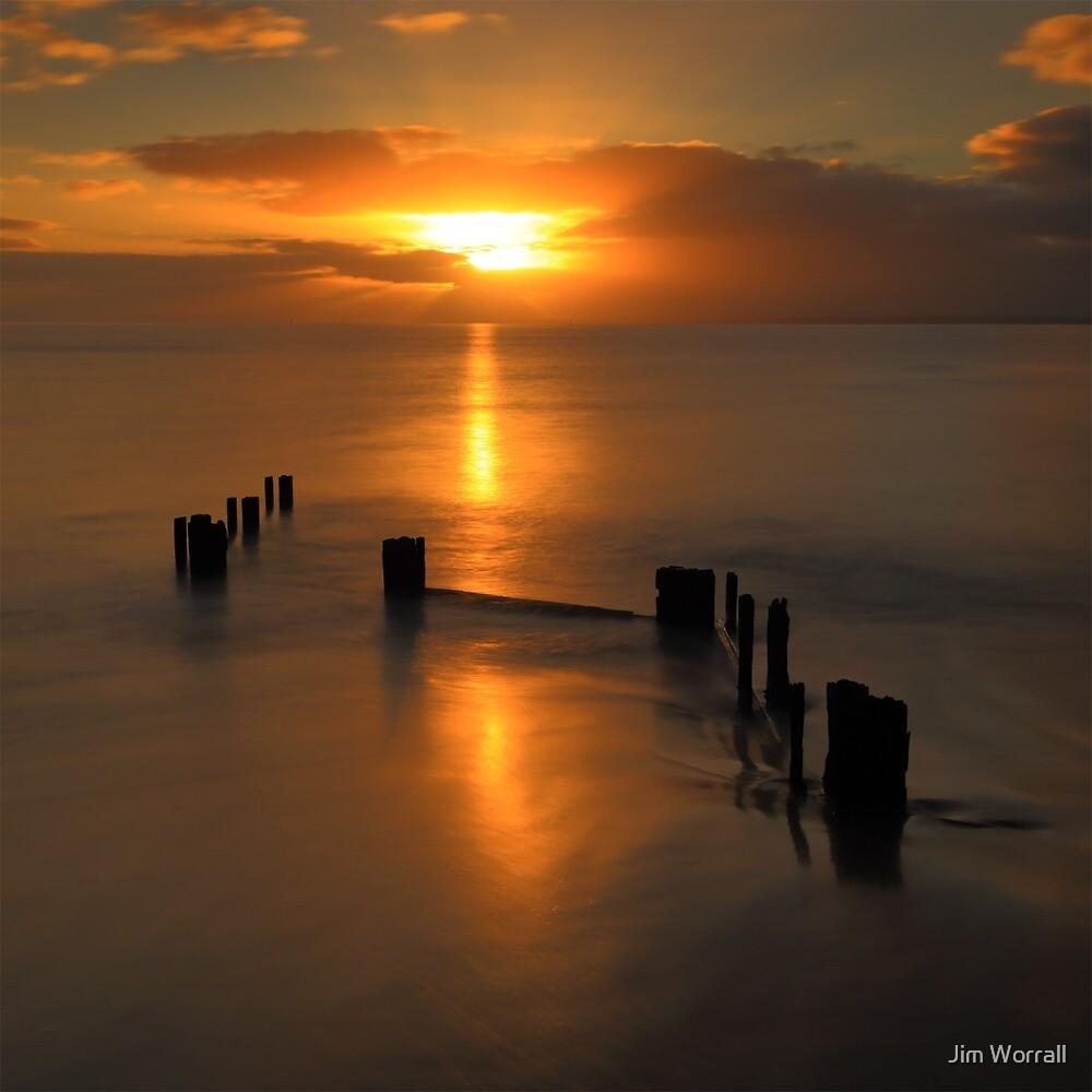 Balnarring beach sunrise by Jim Worrall