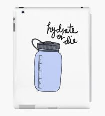 Hydrate or Die iPad Case/Skin