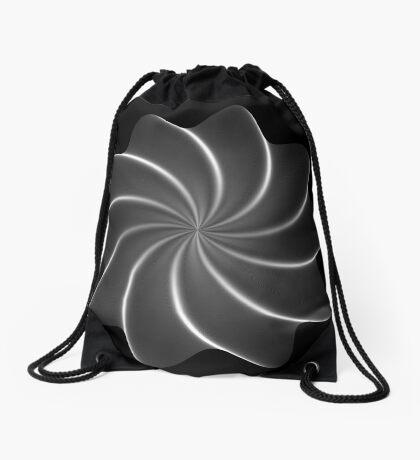 Polar Flower 005 Drawstring Bag
