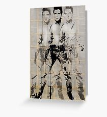 elvis (after andy) Greeting Card