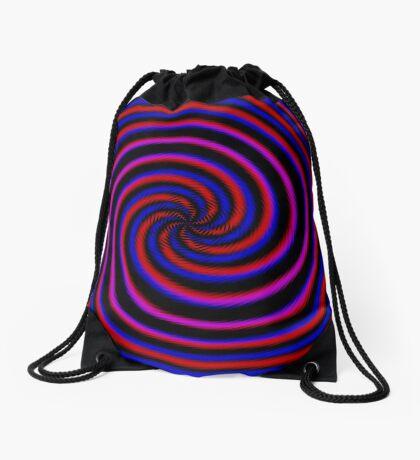 Polar Flower 007 Drawstring Bag