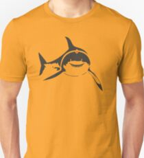 SHARKS WITH FRICKIN LASER BEAMS T-Shirt Soft Funny AUSTIN POWERS TEE Dr Evil Slim Fit T-Shirt