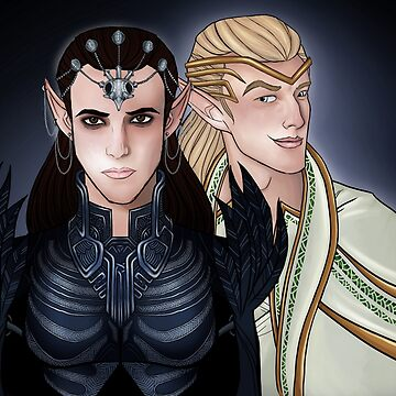 The Twins by geeky-jez