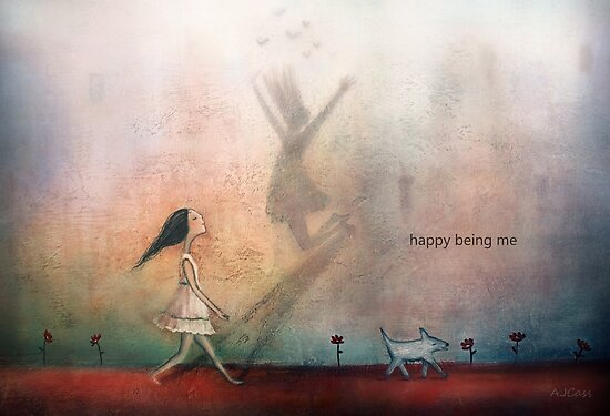 Happy being me by theArtoflOve