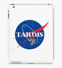 Tardis NASA T Shirt Parody Dr Dalek Who Doctor Space Time BBC Tenth Police Box iPad Case/Skin