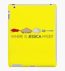 Utopia - where is Jessica Hyde? iPad Case/Skin