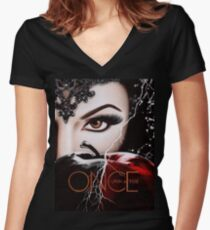 Once Upon A Time S6 Women's Fitted V-Neck T-Shirt