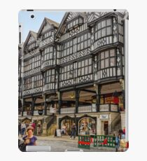 Shopping in Chester, England iPad Case/Skin