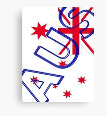 AUS Flag Canvas Print