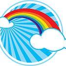 Colourful Rainbow by Kat Massard