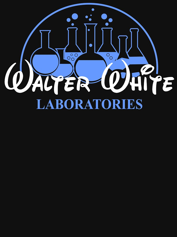 497f93c73 Walter White Laboratories T Shirt Breaking Pinkman Bad AMC Heisenberg Mr  White by beardburger