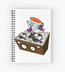 Dj Dexter Spiral Notebook