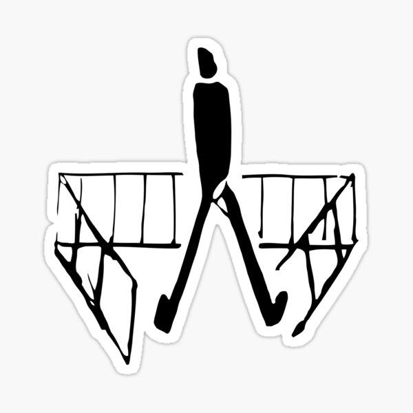 Franz Kafka Drawing 02 Sticker