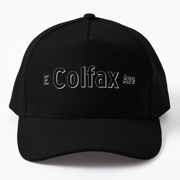 East Colfax Ave - White - Denver, Colorado Baseball Cap