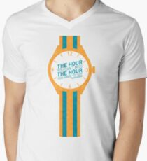 The Hour You Can't Miss Mens V-Neck T-Shirt