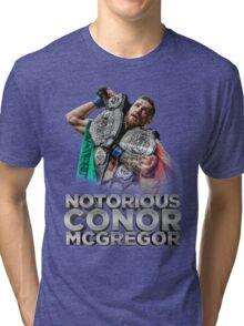 McGregor - Double Champ - Silver Tri-blend T-Shirt