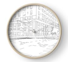 Street Corner Clock