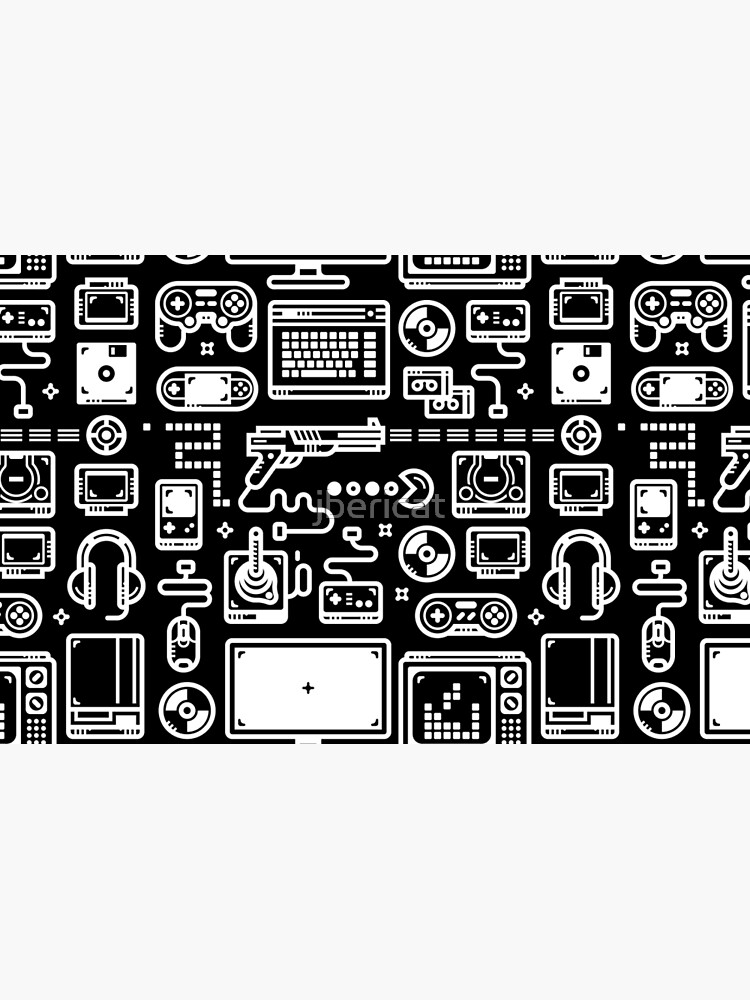 Retro Gamer Video Game Consoles, PC's, Controllers, Joysticks and Gamepads by jbericat