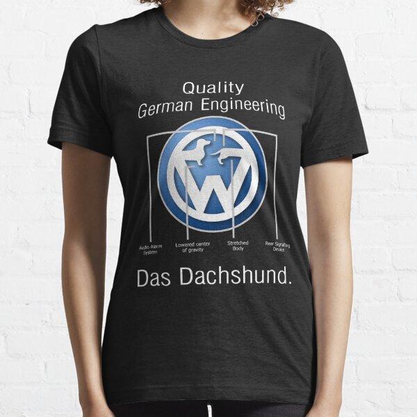Teckshund allemand d'ingénierie de qualité - Doxie T-shirt T-shirt essentiel