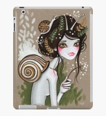 Snail Girl iPad Case/Skin