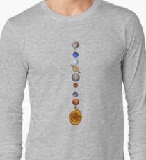 Solar System space astronomy fashion retro planets cool T-Shirt