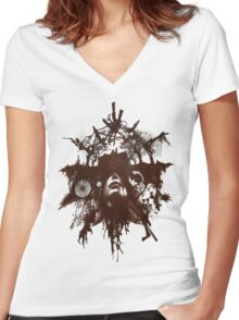 Resident Evil 7 - Special Event T Design Women's Fitted V-Neck T-Shirt