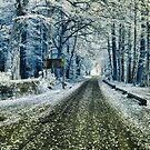 Glencoe Scotand infrared by Gary Power
