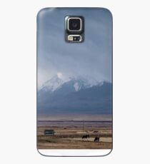 Montagnes du Pamir, Kirghizistan Coque et skin Samsung Galaxy