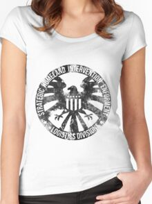 Vintage Stlye S.H.I.E.L.D  Women's Fitted Scoop T-Shirt