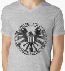 Vintage Stlye S.H.I.E.L.D  Mens V-Neck T-Shirt