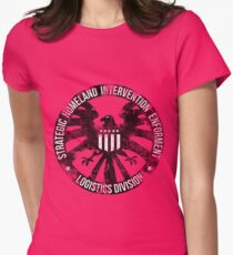 Vintage Stlye S.H.I.E.L.D  Womens Fitted T-Shirt