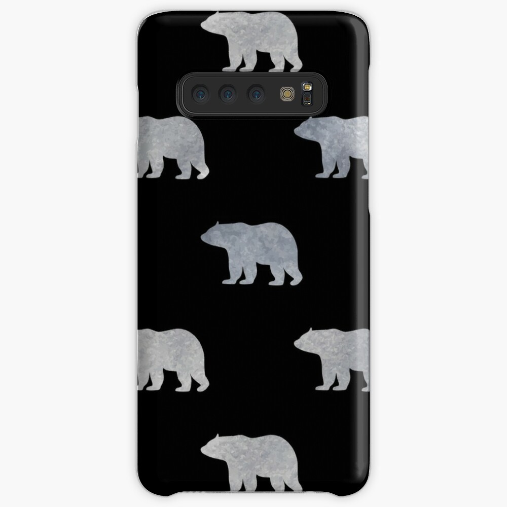 Silver bears Case & Skin for Samsung Galaxy