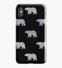 Silver bears iPhone Case/Skin