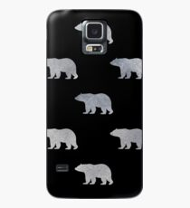 Silver bears Case/Skin for Samsung Galaxy