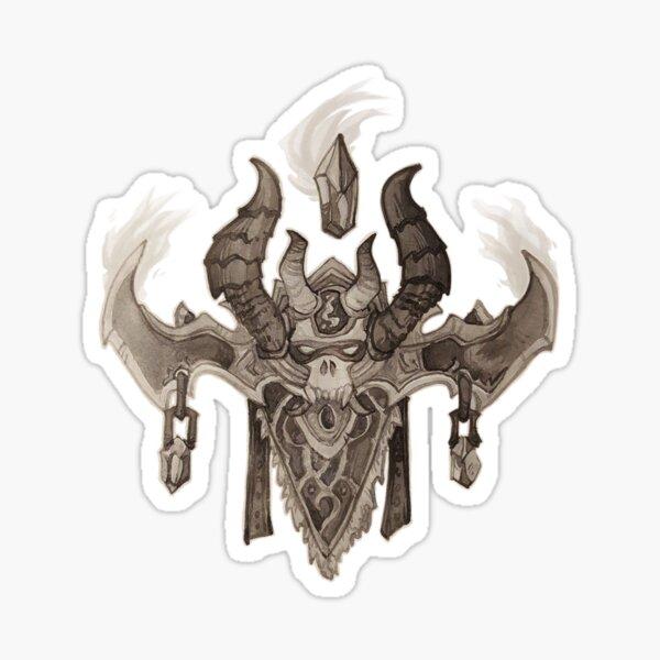 Demon Hunter crest Sticker