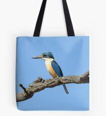 Sacred Kingfisher Tote Bag