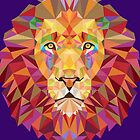 Geometric Lion by Esoteric Exposal