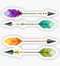 Hipster Arrows Sticker