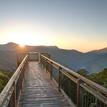 Sunrise at the Dorrigo Skywalk by RodKashubin