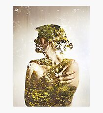 Autumn Leaves - Multiple Exposure. Photographic Print