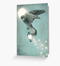 Nighthawk (portrait format) Greeting Card