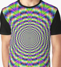 Neon Pulse Graphic T-Shirt