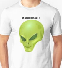 Alien Head Unisex T-Shirt