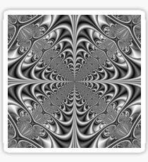 Gothic Geometry in Monochrome Sticker