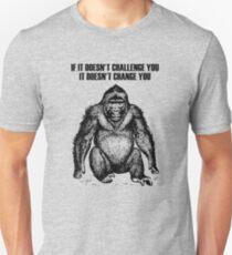 Ape sitting Unisex T-Shirt