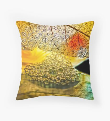 Seeds Upon the Field Throw Pillow