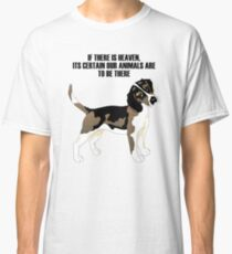 Beagle standing Classic T-Shirt